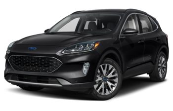 2021 Ford Escape - Agate Black Metallic