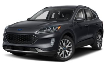 2021 Ford Escape - Antimatter Blue Metallic