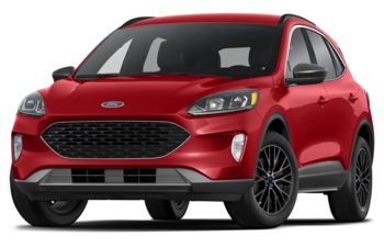 2021 Ford Escape PHEV - Rapid Red Metallic Tinted Clearcoat
