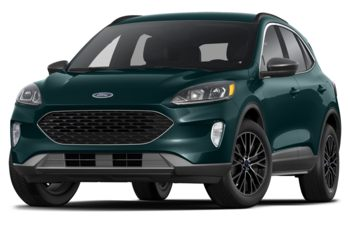 2020 Ford Escape PHEV - Dark Persian Green Metallic