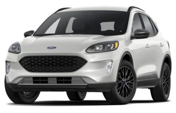 2020 Ford Escape PHEV - Oxford White