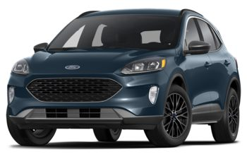 2021 Ford Escape PHEV - Antimatter Blue Metallic