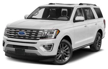 2021 Ford Expedition - Star White Platinum Metallic Tri-Coat