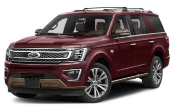 2021 Ford Expedition - Burgundy Velvet Metallic Tinted Clearcoat