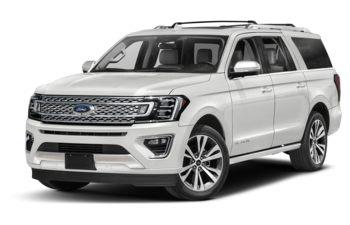 2021 Ford Expedition Max - Star White Platinum Metallic Tri-Coat