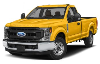 2020 Ford F-250 - Yellow
