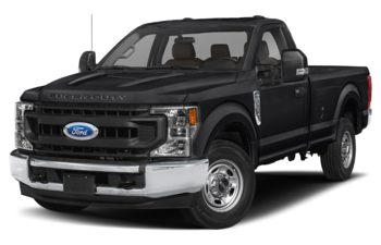2021 Ford F-350 - Agate Black Metallic