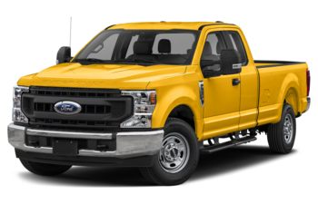 2021 Ford F-250 - Yellow