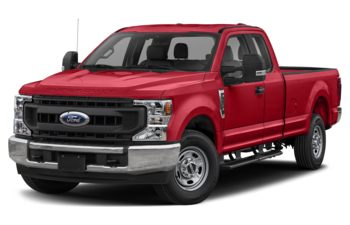 2021 Ford F-250 - Vermillion Red