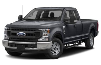 2021 Ford F-350 - Antimatter Blue Metallic
