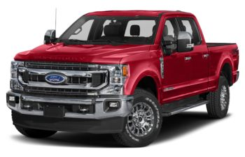 2020 Ford F-250 - Rapid Red Metallic Tinted Clearcoat