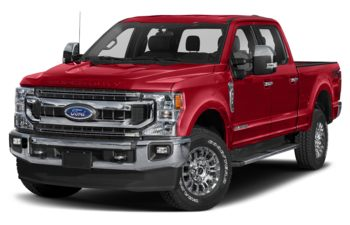 2020 Ford F-250 - Vermillion Red