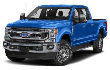 2021 Ford F-250 - Velocity Blue Metallic