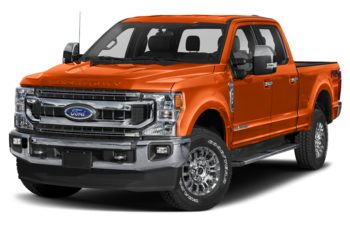2021 Ford F-250 - Orange