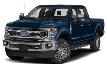 2020 Ford F-250 - Blue Jeans Metallic
