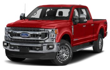 2020 Ford F-250 - Race Red