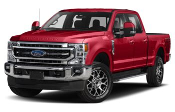 2021 Ford F-250 - Rapid Red Metallic Tinted Clearcoat