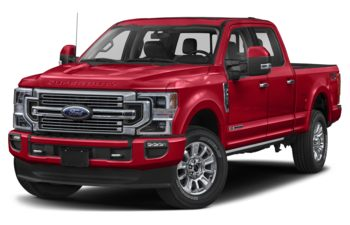 2020 Ford F-350 - Rapid Red Metallic Tinted Clearcoat