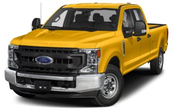 2020 Ford F-350 - Yellow