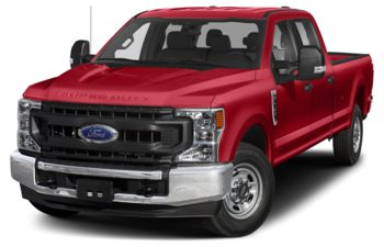 2020 Ford F-350 - Vermillion Red