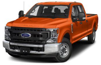 2020 Ford F-250 - Orange