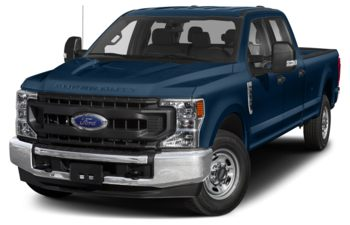 2020 Ford F-350 - Blue Jeans Metallic