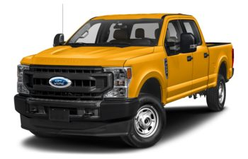 2020 Ford F-350 - School Bus Yellow
