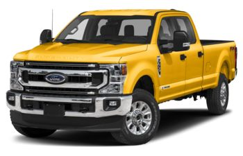 2021 Ford F-350 - Yellow