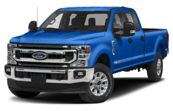 2020 Ford F-350 - Velocity Blue