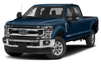 2020 Ford F-350 - Blue Jeans Metallic
