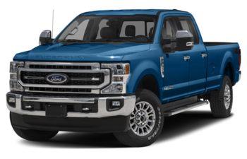 2021 Ford F-350 - Antimatter Blue Metallic
