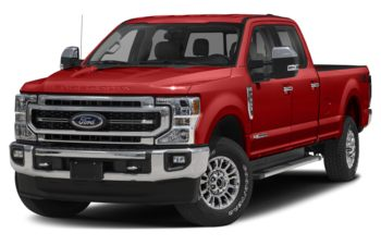 2020 Ford F-350 - Race Red