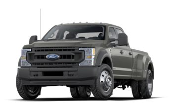 2021 Ford F-450 - Iconic Silver Metallic