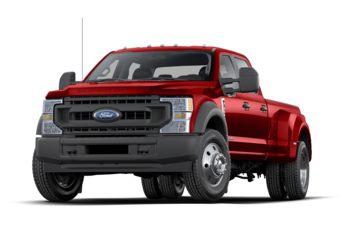 2021 Ford F-450 - Race Red