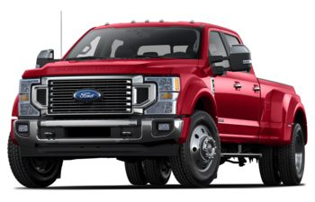 2020 Ford F-450 - Rapid Red Metallic Tinted Clearcoat