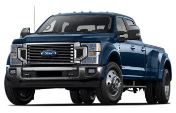2020 Ford F-450 - Blue Jeans Metallic