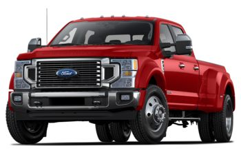 2020 Ford F-450 - Race Red