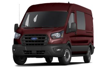 2020 Ford Transit-250 Crew - Kapoor Red Metallic