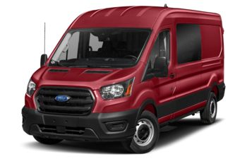 2021 Ford Transit-350 Crew - Kapoor Red Metallic