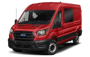2021 Ford Transit-150 Crew - Race Red