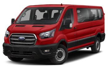 2021 Ford Transit-350 Passenger - Race Red