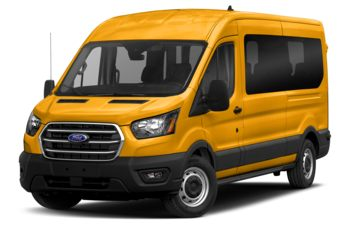 2020 Ford Transit-350 Passenger - School Bus Yellow