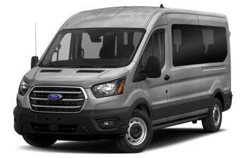 2021 Ford Transit-350 Passenger - Ingot Silver Metallic