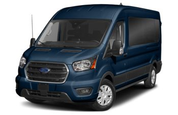 2021 Ford Transit-350 Passenger - Blue Jeans Metallic