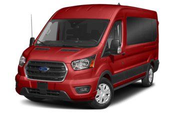 2021 Ford Transit-350 Passenger - Race Red