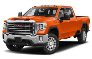 2020 GMC Sierra 2500HD - Tangier Orange