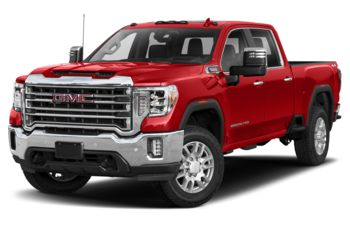 2021 GMC Sierra 2500HD - Cayenne Red Tintcoat