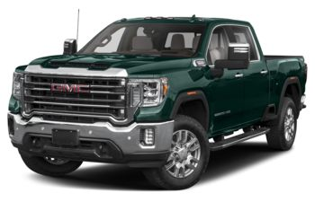 2020 GMC Sierra 3500HD - Woodland Green