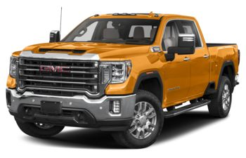 2020 GMC Sierra 3500HD - Wheatland Yellow