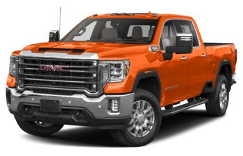 2020 GMC Sierra 3500HD - Tangier Orange
